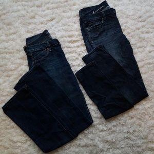Dark Wash Demin Jeans - Size 4